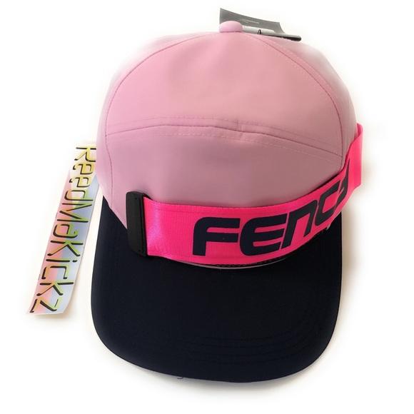 8cab12bb6a1576 Puma Accessories   Fenty Rihanna Giant Strap Cap Pink Womens   Poshmark